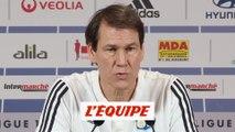 Garcia «Guimaraes, on ne sait pas si ça va se faire» - Foot - L1 - OL