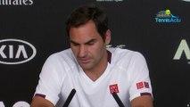 """Open d'Australie 2020 - Roger Federer : """"Gagner mon 100e match en Australie de cette façon, je ne vais jamais oublier"""""""
