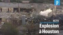 Etats-Unis : une énorme explosion dans un site industriel de Houston
