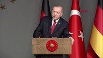 Erdoğan ile merkel ortak basın toplantısı soru cevap