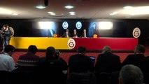 Galatasaray kulübü başkanı Mustafa Cengiz: (Fatih Terim ile ilgili) Ayrı ayrı fikirlerdeysek ayrı...