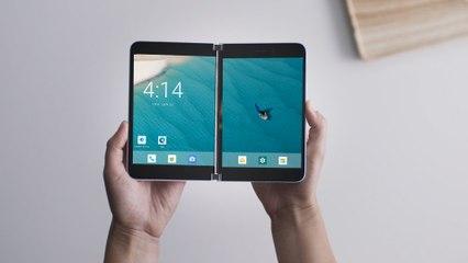 Voici à quoi devrait ressembler l'interface du Microsoft Surface Duo