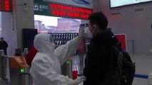 Rues et gares désertes, circulation minimum : Wuhan, épicentre du nouveau coronavirus, transformée en ville fantôme