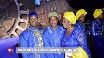 John Boyega Gives Back To His Parents