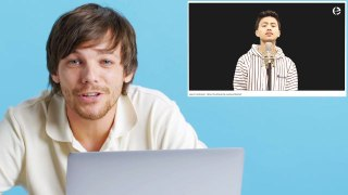 Louis Tomlinson Watches Fan Covers on YouTube