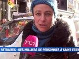 A la Une : La Loire victime d'un piratage informatique / La mobilisation continue / Une marche blanche pour sa soeur / Des écharpes écolos et numériques - Le JT - TL7, Télévision loire 7