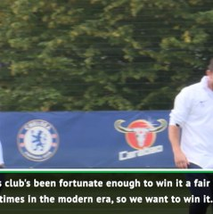 Chelsea just want to win it! - Lampard on FA Cup