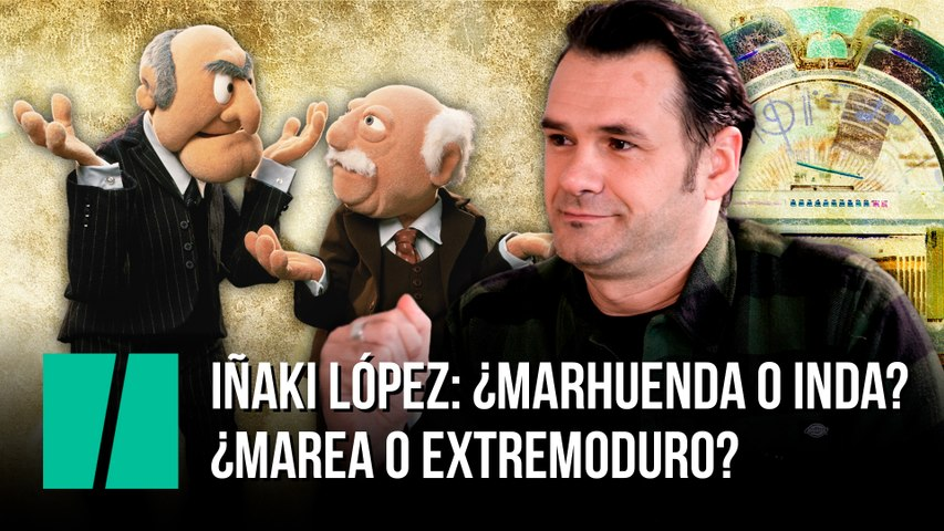 Test rápido a Iñaki López: ¿Marhuenda o Inda? ¿Marea o Extremoduro?