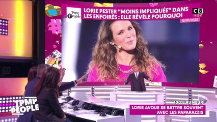 "Lorie tacle ""The Voice"""
