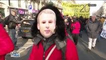 Manifestation du 24 janvier à Paris