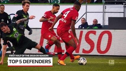 Bundesliga: Top 5 defenders of the 2019/20 season so far