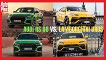 Audi RS Q8 VS Lamborghini Urus : duel de chiffres !