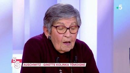 Auschwitz : Ginette Kolinka témoigne - C à Vous - 24/01/2020