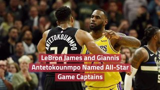 The NBA All-Star Game Captains