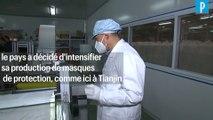 Virus mortel : la Chine relance la production de masques