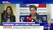 Coronavirus: deux cas confirmés en France, à Paris et à Bordeaux