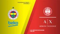 Fenerbahce Beko Istanbul - AX Armani Exchange Milan Highlights   EuroLeague, RS Round 21