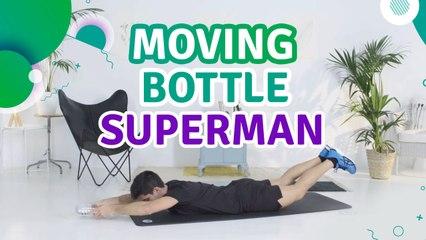 Moving bottle superman - Fit People
