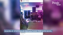 Jennifer Lopez Says She's 'Ready to Go' During Super Bowl Rehearsal Video: 'Waiting for My Cue'
