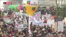 Réforme des retraites : 1,3 millions de manifestants dans toute la France selon la CGT