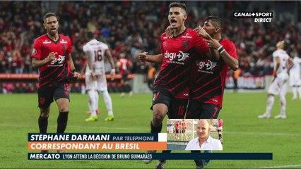 Lyon : arrivée de Bruno Guimarães imminente ?