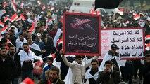 العراق.. مظاهرات ضد الوجود الأجنبي دعا إليها التيار الصدري