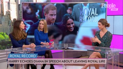 Prince Harry Echoed Mom Princess Diana in Speech About Leaving Royal Life: Compare Their Comments