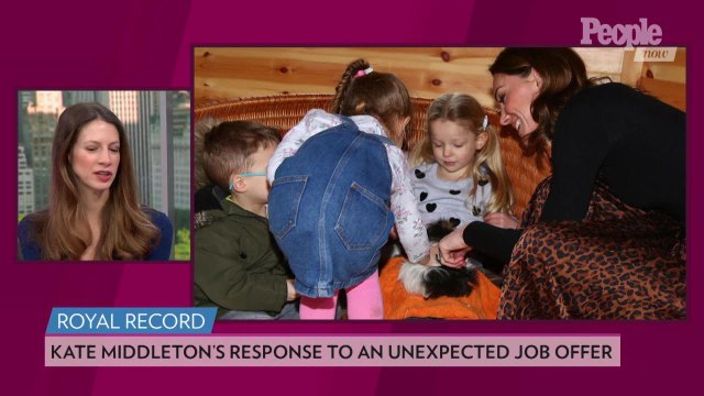 Kate Middleton Had the Best Response When She Received an Unexpected Job Offer at Children's Center