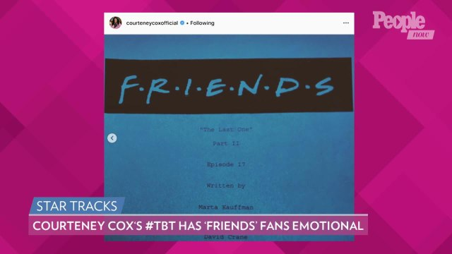 Courteney Cox Shares Photo of the 'Friends' Cast's 'Last Supper' Before Filming Final Episode