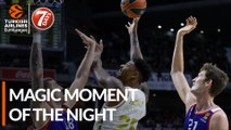 7DAYS Magic Moment of the Night: Jordan Mickey, Real Madrid