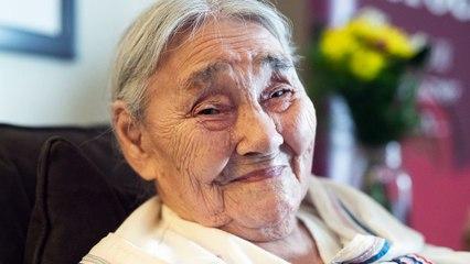 Inuk elder recalls collecting bones for the war effort during the Second World War