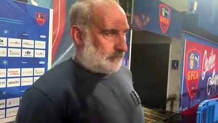 J19 - la réaction du coach F. Ciccolini après la réception du SC Toulon (0-0)