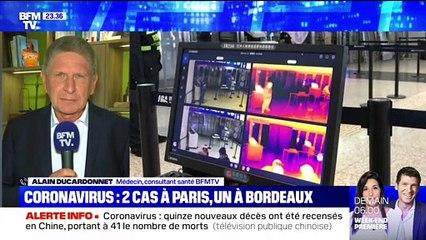 Coronavirus: Deux cas à Paris, un à Bordeaux - 24/01