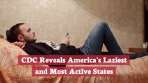 The CDC Says These Are The Lazy States