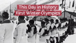 Remembering The  First Winter Olympics