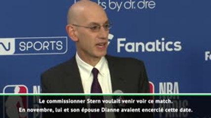 Paris Game - Le bel hommage de Silver à David Stern : ''Ce match, c'était sa vision !''