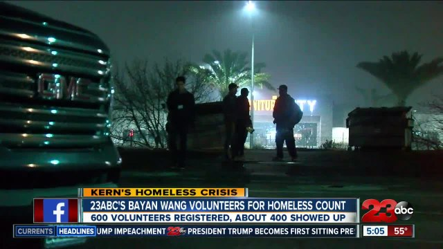 Inside look at Kern County's 2020 homeless count