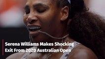 Serena Williams At The 2020 Australian Open
