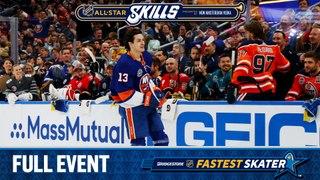 Watch the full Bridgestone NHL Fastest Skater competition
