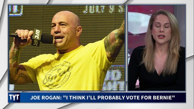Sanders Campaign Amplifies Joe Rogan Endorsement