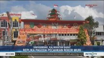 Rayakan Imlek, Singkawang Pecahkan Rekor MURI Replika Pagoda