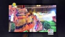 Entrevista a Neyvi Tolentino abogada y Bolivar Reyes propietario del restaurante la Esquina Caribeña