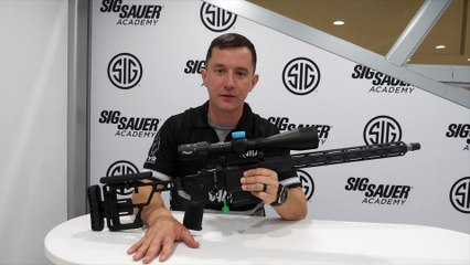 The New SIG Sauer CROSS Bolt Action Rifle
