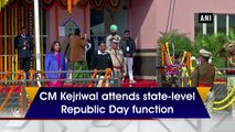 CM Kejriwal attends state-level Republic Day function