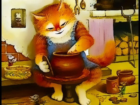 Chat sculpté super classe de maître de Rousse chat