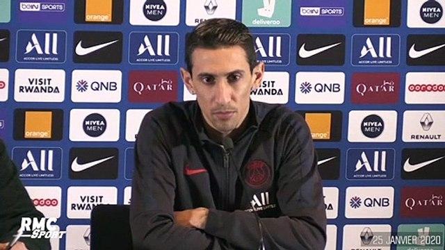 "PSG : Di Maria ""souhaite"" que le PSG soit son dernier club en Europe"