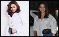 Deepika Padukone Vs Rakul Preet Singh: Who Slayed The White Over-sized Shirt With Waist Bag Look