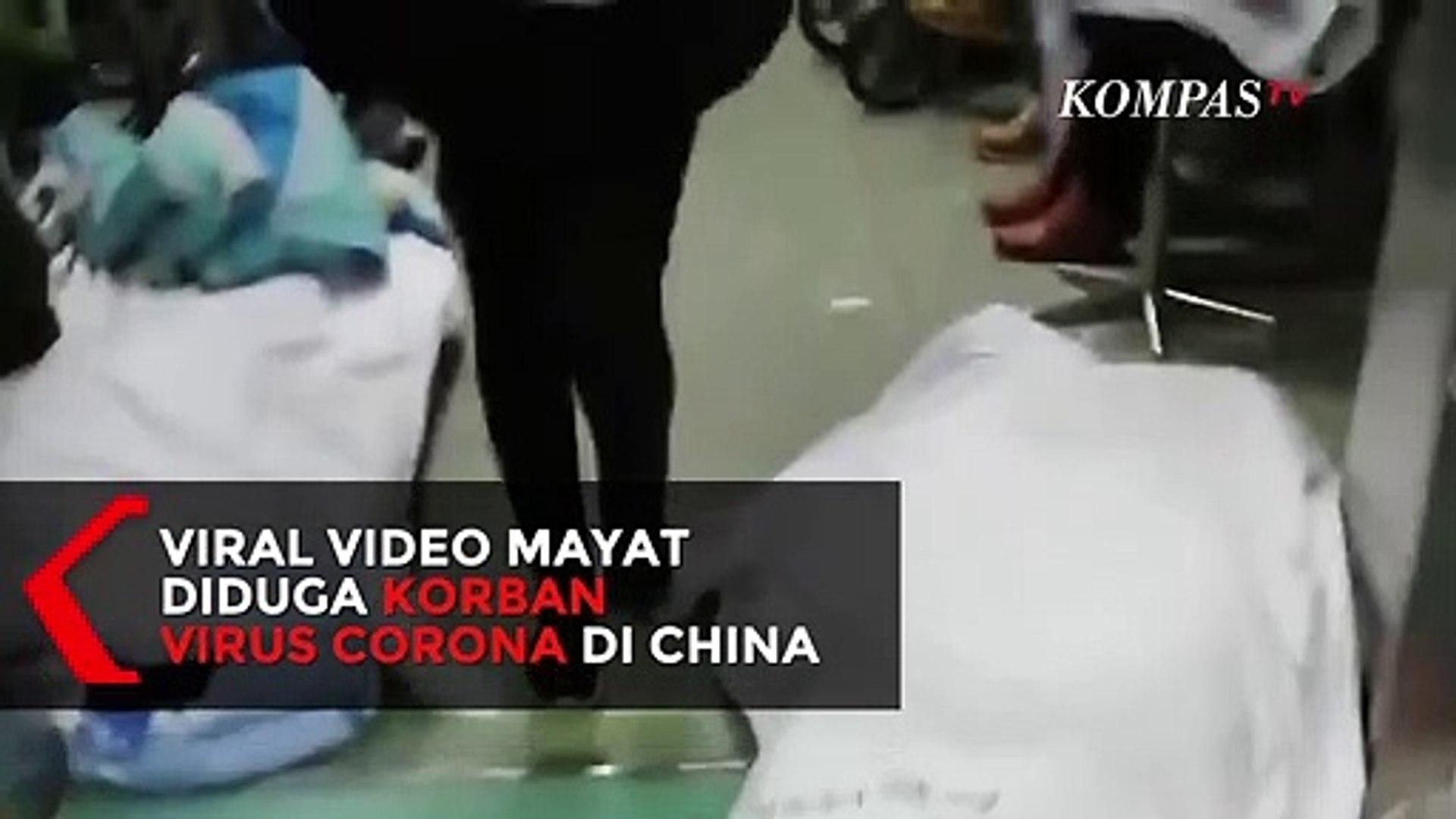 Viral Video Mayat Diduga Korban Virus Corona Tergeletak