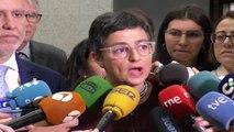 """González Laya transmite """"calma"""" ante la acción de Marruecos"""