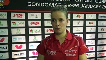 """Marie Migot : """"Faire quelque chose contre le Portugal"""""""